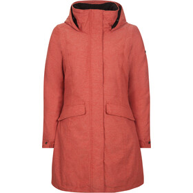 Elkline Warmumsherz Outdoor Jas Dames, red